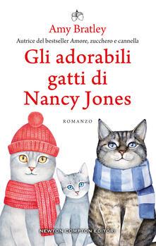 Gli adorabili gatti di Nancy Jones - Amy Bratley - copertina