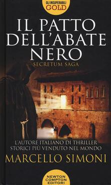 Il patto dell'abate nero. Secretum saga - Marcello Simoni - copertina