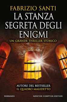 La stanza segreta degli enigmi - Fabrizio Santi - copertina