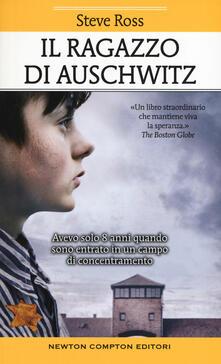 Il ragazzo di Auschwitz - Steve Ross - copertina