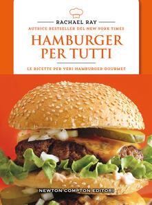 Hamburger per tutti - Rachael Ray - copertina