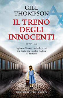 Il treno degli innocenti - Gill Thompson - copertina
