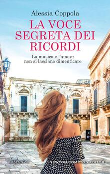 La voce segreta dei ricordi - Alessia Coppola - copertina