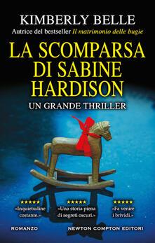 La scomparsa di Sabine Hardison - Kimberly Belle - copertina