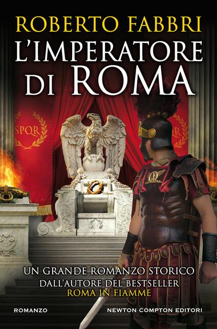 L' imperatore di Roma - Roberto Fabbri - copertina