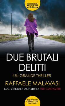 Due brutali delitti - Raffaele Malavasi - copertina