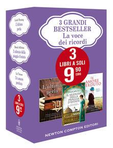 3 grandi bestseller. La voce dei ricordi: L'ultima perla-Un amore perduto-Il silenzio della pioggia d'estate - Leah Fleming,Liz Trenow,Dinah Jefferies - copertina