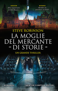 La moglie del mercante di storie - Steve Robinson - copertina