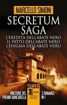 Secretum Saga - Marcello Simoni - copertina