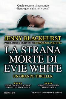 La strana morte di Evie White - Jenny Blackhurst - copertina