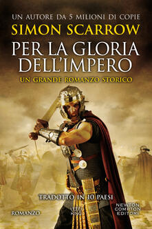 Per la gloria dell'impero - Simon Scarrow - copertina