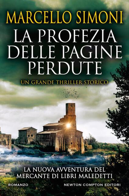 La profezia delle pagine perdute - Marcello Simoni - copertina
