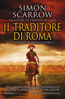 Il traditore di Roma - Simon Scarrow - copertina