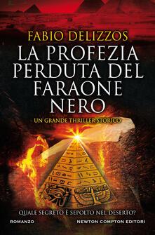 La profezia perduta del faraone nero - Fabio Delizzos - copertina