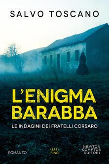 Enigma Barabba - Salvo Toscano - copertina