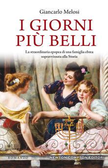I giorni più belli - Giancarlo Melosi - copertina