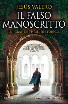 Il falso manoscritto - Jesús Valero - copertina