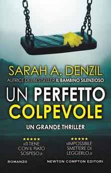Un perfetto colpevole - Sarah A. Denzil - copertina
