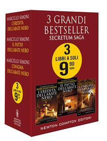 3 grandi bestseller. Secretum Saga - Marcello Simoni - copertina