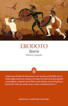Storie. Ediz. integrale - Erodoto - copertina