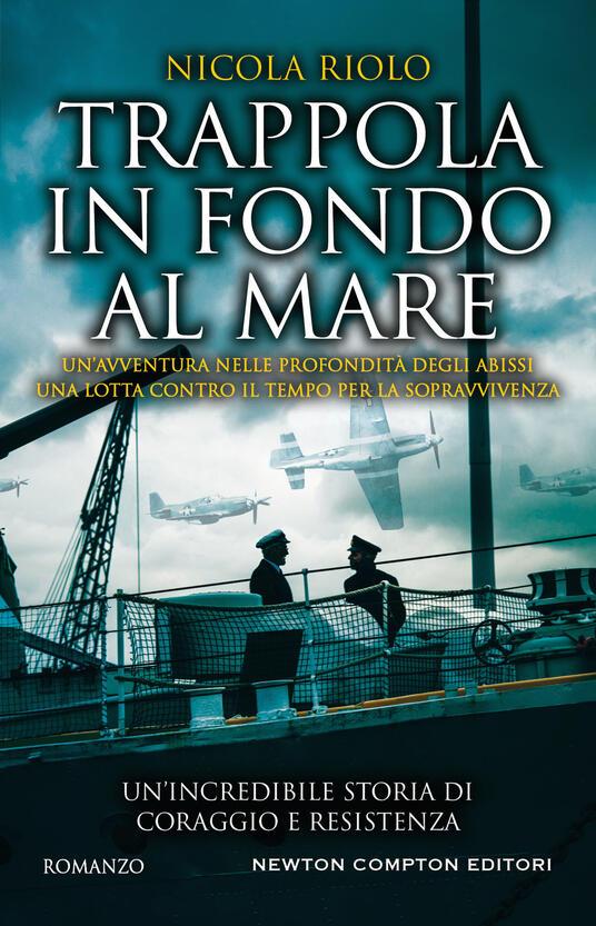 Trappola in fondo al mare - Nicola Riolo - copertina