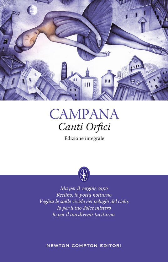 Canti orfici. Ediz. integrale - Dino Campana - copertina
