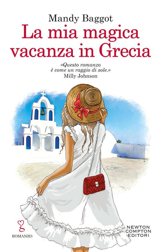 La mia magica vacanza in Grecia - Mandy Baggot - copertina