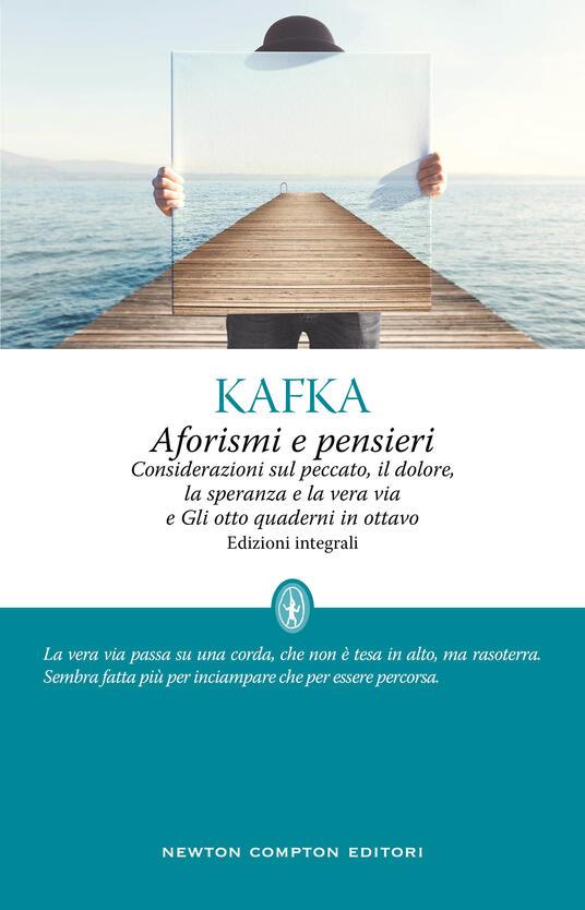 Aforismi e pensieri - Franz Kafka - copertina
