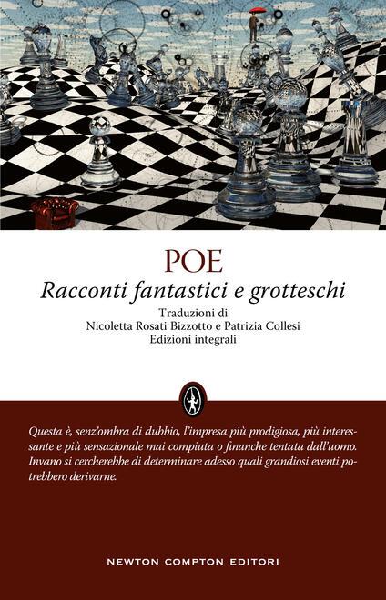 Racconti fantastici e grotteschi. Ediz. integrale - Edgar Allan Poe - copertina