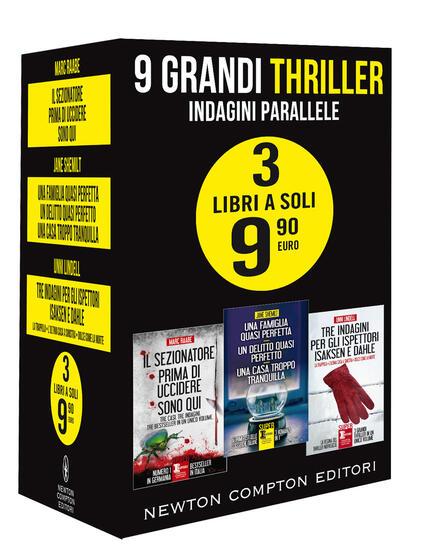 9 grandi thriller. Indagini parallele - Unni Lindell,Marc Raabe,Jane Shemilt - copertina