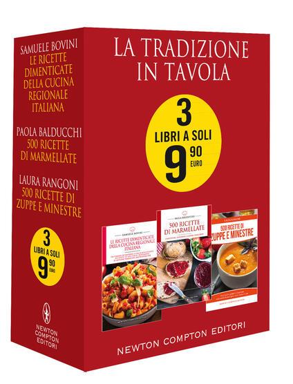 La tradizione in tavola - Samuele Bovini,Paola Balducchi - copertina
