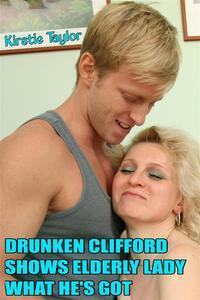 Drunken Clifford Shows Elderly Lady What He's Got