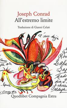 All'estremo limite - Joseph Conrad - copertina