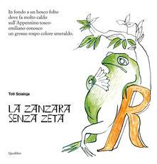 La zanzara senza zeta - Toti Scialoja - copertina