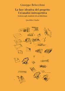 Grandtoureventi.it La fase ideativa del progetto. Un'analisi introspettiva. Lettera agli studenti di architettura Image