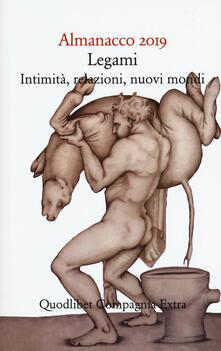 Letterarioprimopiano.it Almanacco 2019. Legami, intimità, relazioni, nuovi mondi Image