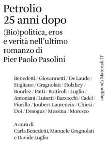 Recuperandoiltempo.it Petrolio 25 anni dopo. (Bio)politica, eros e verità nell'ultimo romanzo di Pier Paolo Pasolini Image