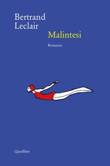 Malintesi - Bertrand Leclair - copertina