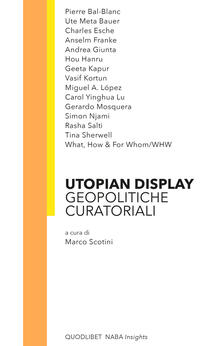 Osteriacasadimare.it Utopian display. Geopolitiche curatoriali Image