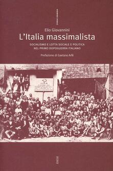L' Italia massimalista - Elio Giovannini - copertina