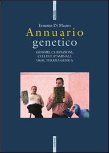Annaurio genetico - Ernesto Di Mauro - copertina