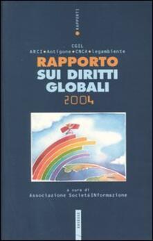 Rapporto sui diritti globali 2004 - copertina