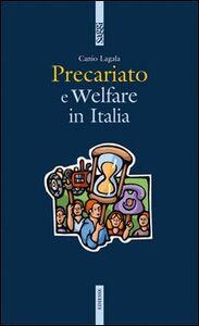Libro Precariato e welfare in Italia Canio Lagala