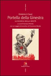 Libro Portella della ginestra. La ricerca della verità Girolamo Li Causi