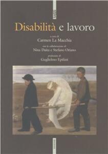 Disabilità e lavoro