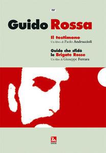 Libro Guido rossa. Con DVD