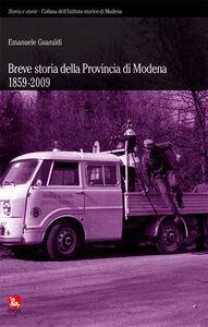 Foto Cover di Breve storia della provincia di Modena 1859-2009, Libro di Emanuele Guaraldi, edito da Ediesse