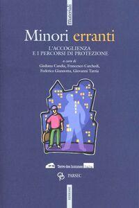 Libro Minori erranti. L'accoglienza e i percorsi di protezione