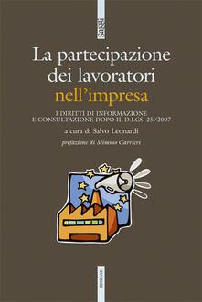 Lpgcsostenible.es L' influenza dei lavoratori nell'impresa. I diritti di informazione e consultazione dopo il d.lgs. 25/2007 Image