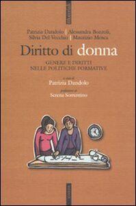 Libro Diritto di donna. Genere e diritti nelle politiche formative